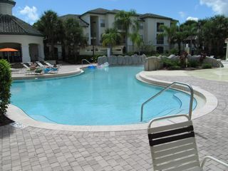 View of Pool - Kissimmee condo vacation rental photo