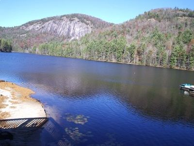 Lake Fairfield (members only) and Bald Rock.