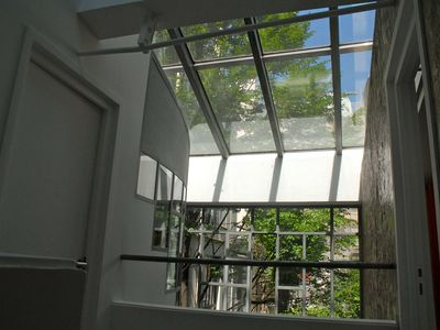 6th Arrondissement St Germain des Pres house rental - view on the garden - 1st level