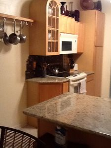 Newly remodeled eat in kitchen with bar/dinette. Fully equipped!!!