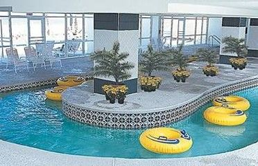Baywatch has an Indoor Lazy River, Indoor Pools and Hot Tubs