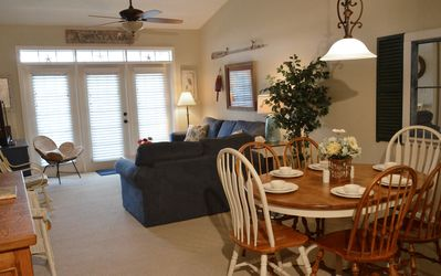 Our St. Augustine vacation rental offers a large living/ dining area & 3 bdrms.
