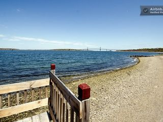 Portsmouth house photo - Private beach area