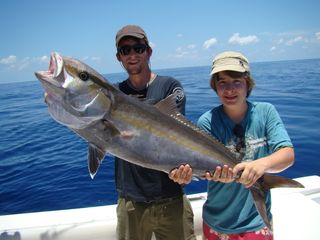 Islamorada condo photo - Amberjack are plentiful offshore, and exciting to catch.....the first time