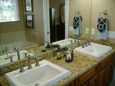 Private, Luxurious, Satisfying Master Bath