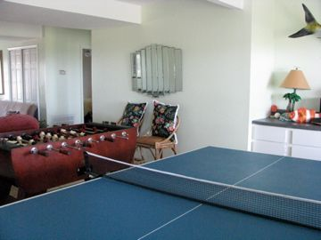 1st floor game room/family room with something for everyone