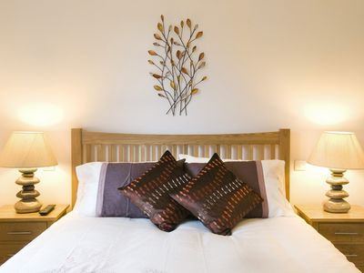 Aberfeldy, Loch Tay and Glen Lyon apartment rental - King Size bed in Ben Nevis