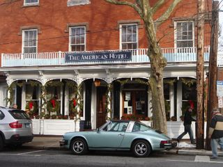 Sag Harbor house photo - The American Hotel, just a short stroll away
