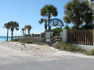 Thomas Drive Area house photo - PUBLIC BEACH ACCESS ACROSS THE STREET
