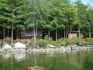 Newfound Lake cottage photo - Private at the waters edge, outstanding views,Beach, dock checkout the pictures!