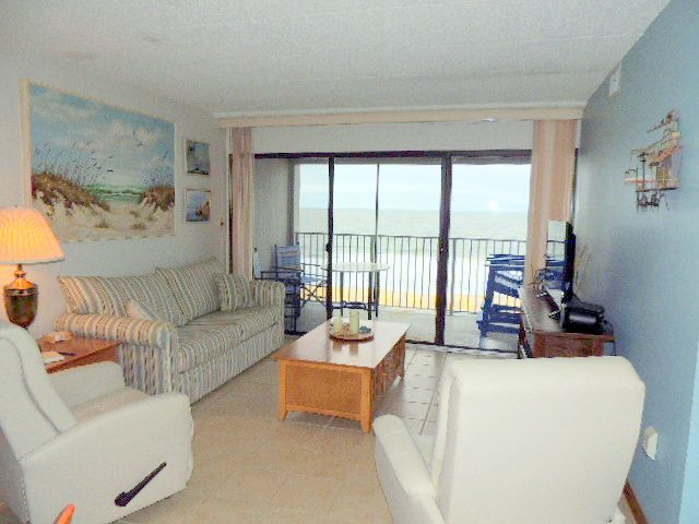 Oceana has a great mid-town location and the building is direct oceanfront