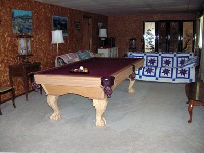 Basement & Pool Table
