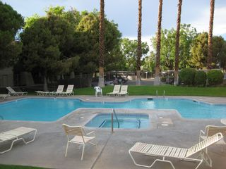 Palm Springs condo photo - One of six pools in the complex.