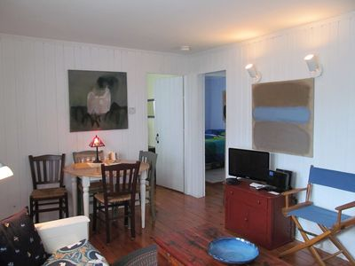 Wellfleet cottage rental - Living room view