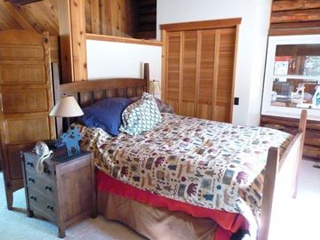 Guest bedroom main level