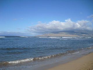 Kihei house photo - Beach in front... great for walks and sunset viewing.