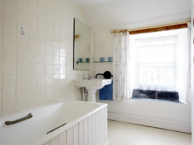 Marazion cottage rental - Trevara main bathroom