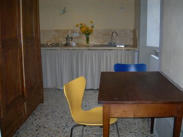 Antique house with Terrace:Kitchen