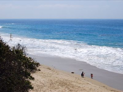 Laguna Beach cottage rental - The Beautiful Beach is only two minute walk from the house !