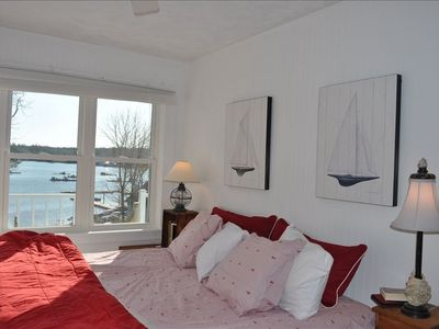 Master Overlooking Harbor, King Bed on Main Level