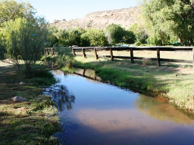 Sedona cottage rental - Mason Creek next to Corral