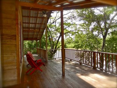 Romantic Jungle Luxury Treehouse high above Belize river with the Howler Monkeys
