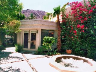 La Quinta house photo - Private courtyard with spa and guest casita