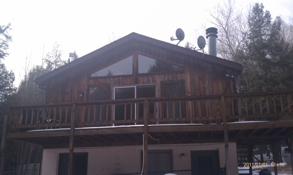 Escape from reality luxury cabin retreat homeaway for Cabins near hunter mountain