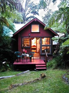 Cozy rainforest cottage