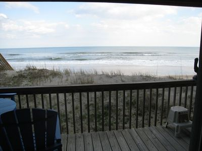 Sand dune, beach, and ocean within 50 feet of Condo.