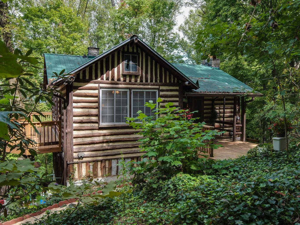 Old World Swiss Cabin Nestled In The Woods Vrbo