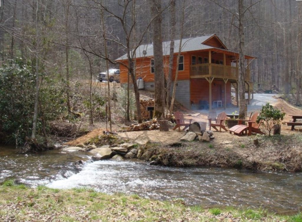 Yellow Creek Cabin Secluded On Creek N C Vrbo