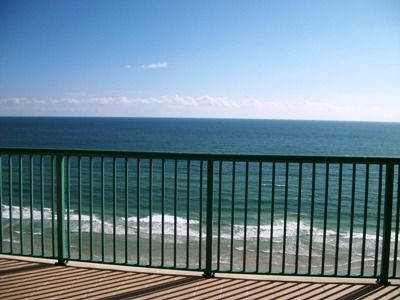 Oceanfront Balcony with views of our pristine beach