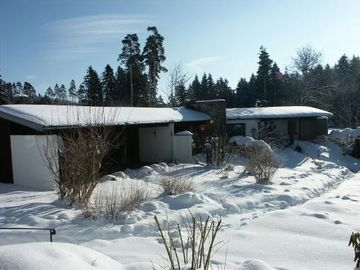 Bungalow im WInter