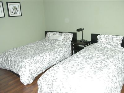 Full and Twin size beds.