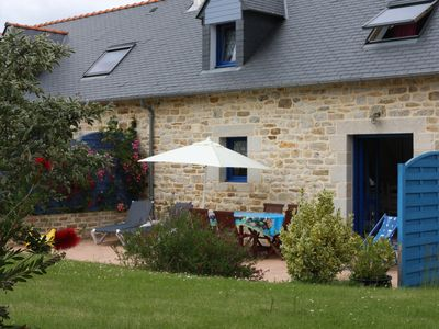 ´Fouesnant´ house; Mousterlin 5 min away from the beach and the aquatic area.