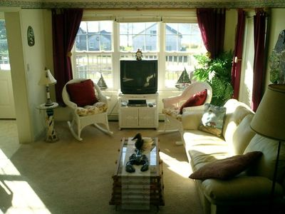 Searsport house rental - Living Room