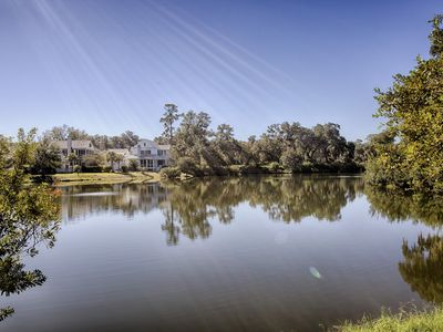 Waterfront Views in this Spectacular Village Home; Walk to the Chapel & Buffalos