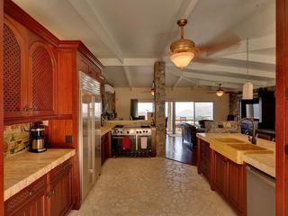 Cinnamon Bay villa photo - Gourmet Kitchen of Mahogany, Solid Travertine, Coral Stone & Luxury Applicances