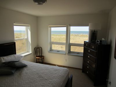 Westport house rental - The second Bed Room. Queen bed and lots of windows.