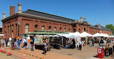 Eastern Market on the weekend (4 minutes from apt)