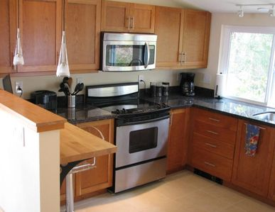 Fully-equipped high-end kitchen with heated floors; Wi-Fi