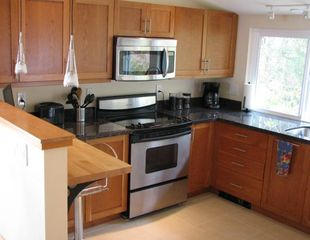 Port Ludlow house photo - Fully-equipped high-end kitchen with heated floors; Wi-Fi
