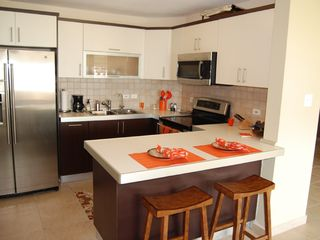Aguadilla apartment photo - Modern fully equipped kitchen and appliances!!