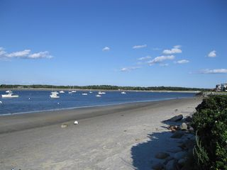 Scarborough and Pine Point house photo - Town Landing beach with a boat launch and great little seafood restaurant