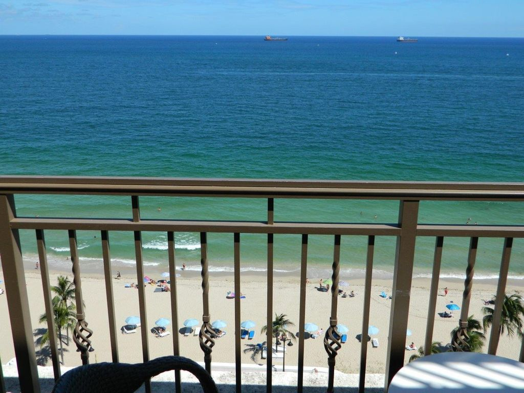 The atlantic unit 1406 oceanfront luxury condo balcony for View from balcony quotes