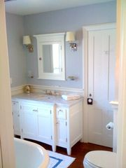 Bridgehampton house photo - master bath room reflects recent complete renovation