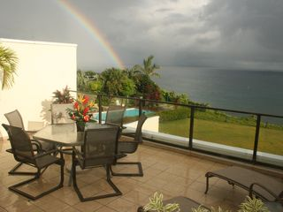 Princeville condo photo - Soak up rays, barbecue dinner, or watch the sunset on the spacious lanai