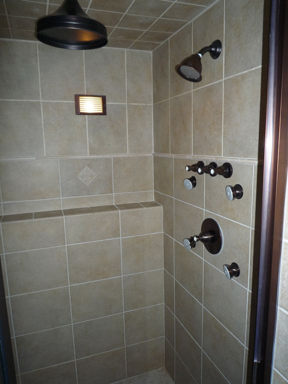 Awesome shower in master bathroom