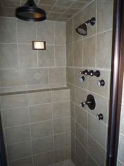 Amery house photo - Awesome shower in master bathroom